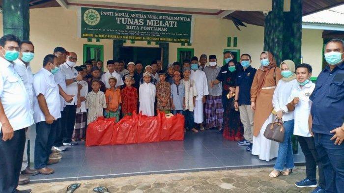 Dirgahayu Ke-52 Kamar Dagang dan Industri Indonesia, Kadin Kalbar Gelar Bakti Sosial ke Panti Asuhan