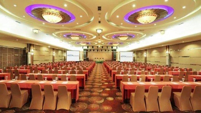 Hotel Aston Tawarkan Ballroom Interior Khas Kalbar Kapasitas 2000 Orang Tanpa Pilar
