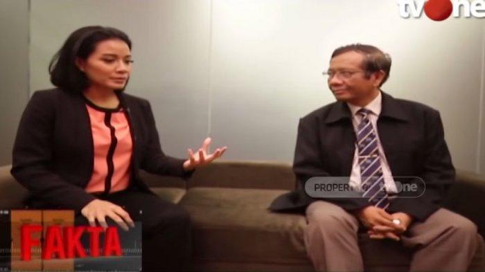 Di Fakta TVOne, Mahfud MD Jawab Balques Manisang Soal Dugaan Kecurangan Pemilu 2019