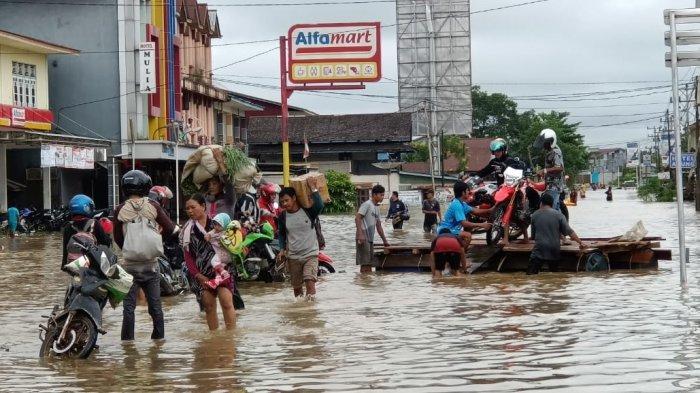 BPBD Kalbar Tetapkan Tiga Kabupaten Ini Bestatus Tanggap Darurat Bencana