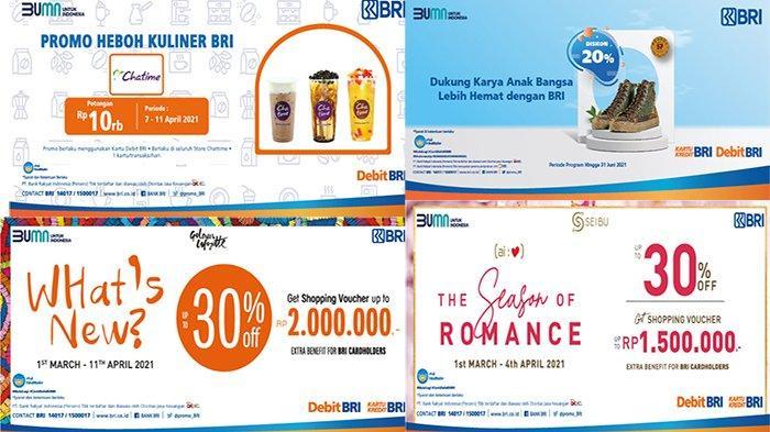BANJIR Promo Diskon Shopping dan Kuliner di Promo bri.co.id, Dapatkan Lucky Dip sampai Rp 2 Juta