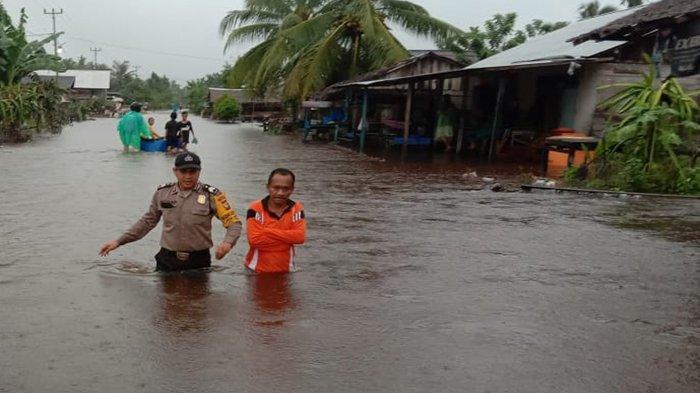 BPBD Sambas Monitoring Dampak Banjir, Sejumlah Jalan Poros Desa Dilaporkan Terendam