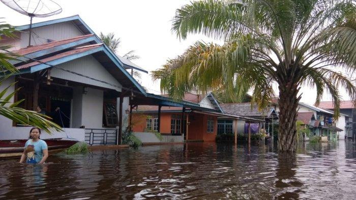 Curah Hujan Tinggi, Polres Melawi Imbau Warga Waspada Banjir dan Tanah Longsor
