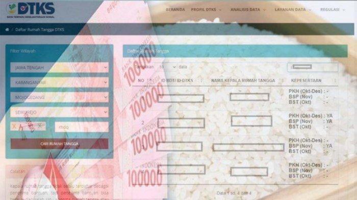 Cekbansos.kemensos.go.id Daftar Nama Bantuan Cair September 2021, Khusus BST Dihentikan !