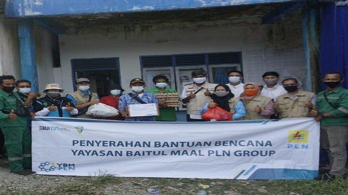 YBM UPDK Kapuas Berikan Bantuan Korban Banjir di Bengkayang