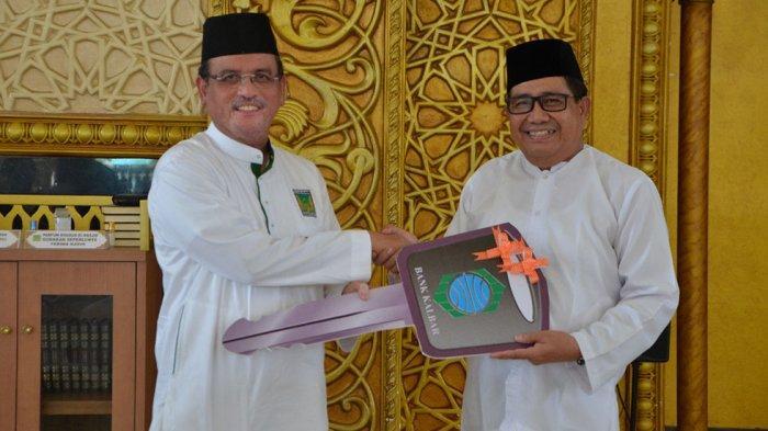 Dapat Bantuan Mobil, Yayasan Masjid Raya Mujahidin Ucapkan Terimakasih Kepada Bank Kalbar
