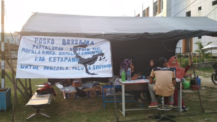 Mapala BMRB Politeknik Negeri Ketapang Buka Posko Penyaluran Bantuan Bencana Palu dan Donggala