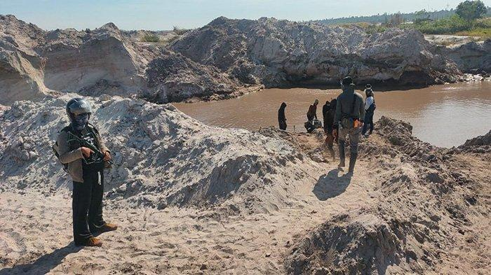 Polres Ketapang Kembali Amankan Pelaku PETI