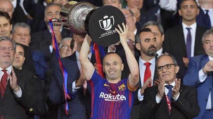 VIDEO Drama 9 Penalti Gagal Beruntun, Klub Mantan Kapten Barcelona Iniesta Akhirnya Juara di Jepang