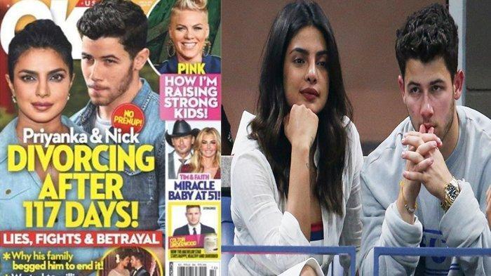 Baru 4 Bulan Menikah, Priyanka Chopra dan Nick Jonas Dikabarkan Cerai, Penyebabnya Sepele!