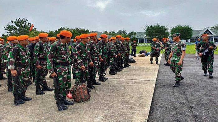 60 Prajurit Batalyon Komando 465 Paskhas ke Natuna Amankan WNI dari Jepang