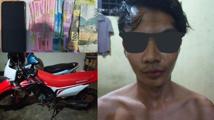 Penjual Madu Oplosan dari Ketapang Diamankan Polsek Rasau Jaya saat Tiba di Pelabuhan
