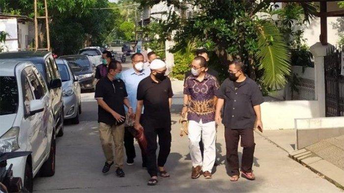 Rocky Gerung, Refly Harun dan Said Didu Sambangi Rumah Penyidik KPK Novel Baswedan, Ada Apa?