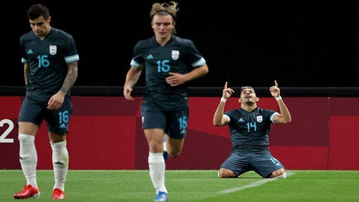 HASIL Bola Olimpiade! Argentina dan Jerman Menang Dramatis, Jepang Tim Pertama Lolos Perempat Final
