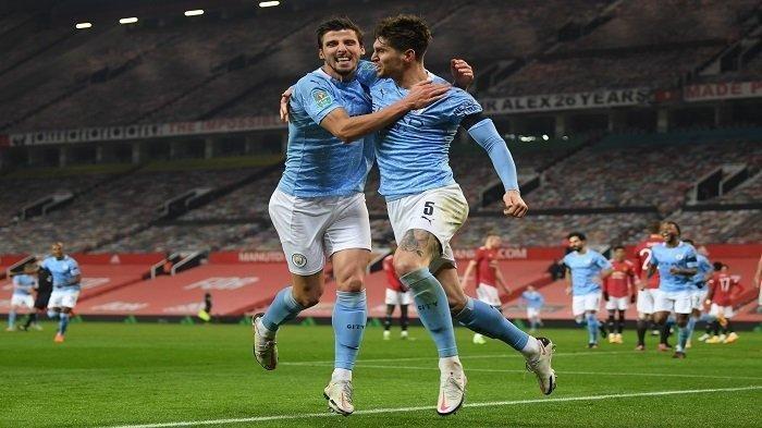 HASIL Liga Inggris Manchester City vs West Ham - Gol John Stones Perlebar Jarak Poin dengan Man Utd
