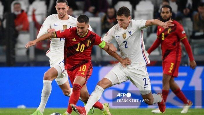 Jam Tayang Italia vs Belgia di UEFA Nations League Malam Ini, Tanpa Lukaku dan Hazard