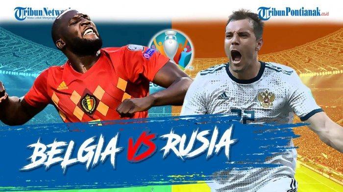 Hasil Belgia Vs Rusia Tadi Malam ! Belgia Manfaatkan Blunder, Romelu Lukaku Cetak Brace