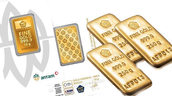 INFO Harga Emas Antam Hari Ini Kamis 10 Juni 2021 & Harga Emas Turun