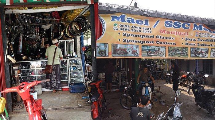 Cari Alamat Bengkel Motor Klasik di Pontianak, Kunjungi Mael Series Sport Classic (SSC) Motor