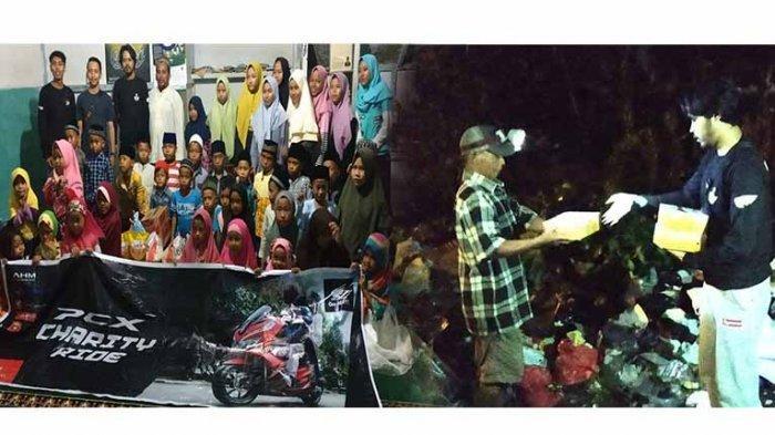 PCX Charity Ride Berbagi Kebaikan di Bulan Suci Ramadan di Panti Asuhan