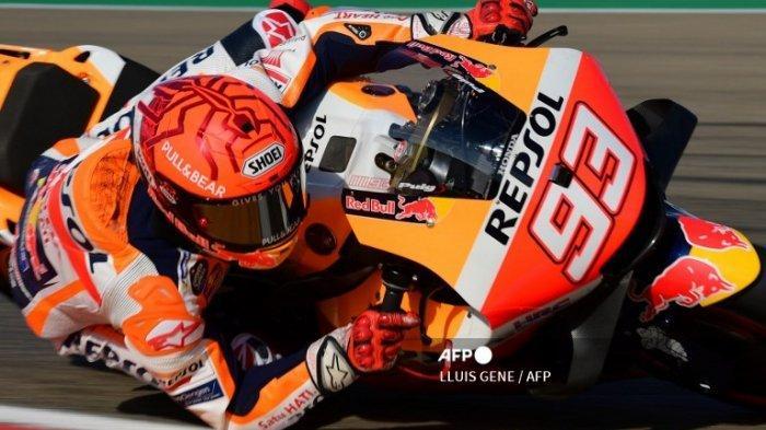BERITA Marc Marquez Terbaru   Tercepat di Hasil FP 4 MotoGP Hari Ini, Bisa Juara MotoGP Aragon 2021?