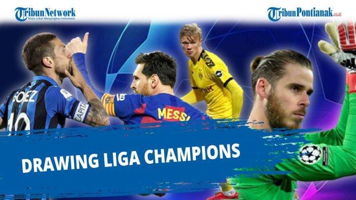Siaran Streaming Undian Fase Knock Out Liga Champions dan Jadwal Kick Off UCL 16 Besar UCL 2020-2021
