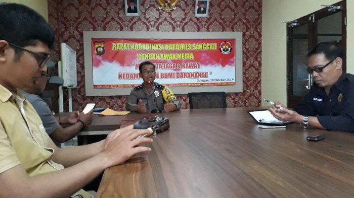 Polres Sanggau Gelar Rapat Koordinasi dengan Awak Media