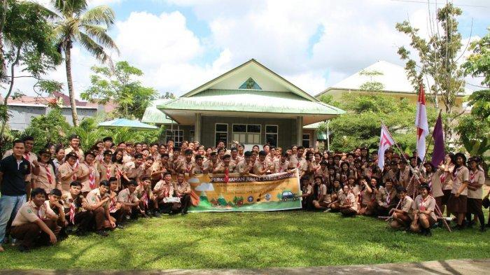 SMA Santo Paulus Pontianak Gelar Kemah Pramuka