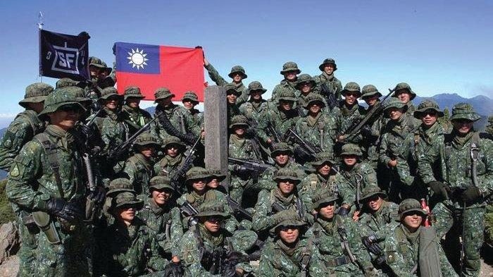 Taiwan Gelar Latihan Perang Skala Besar Libatkan AU, AD dan AL, Siap Sambut Invasi China?