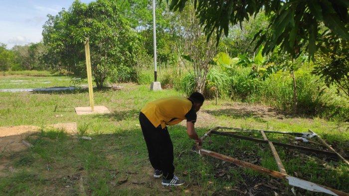 Personel Polsek Sajad Bersihkan Lingkungan Mako, Bentuk Rasa Memiliki