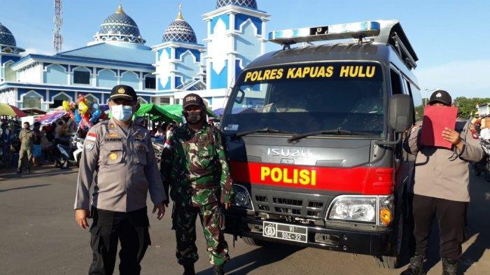 TNI-Polri di Kapuas Hulu Bersinergi Dalam Sosialiasikan Surat Edaran Menteri Agama RI