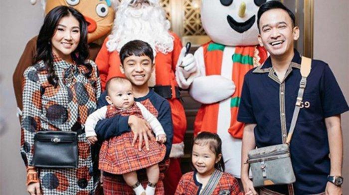Betrand Peto Akan Miliki Nama Chinese di Momen Imlek Pertamanya, Ruben Onsu Sebut Simbol Keluarga
