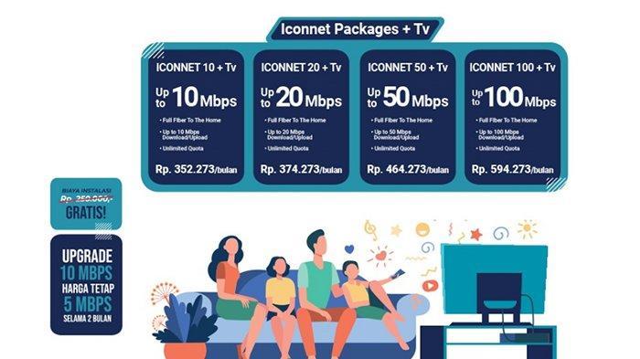 Iconnet PLN Tengah Bersaing, Market Bisnis Akses Internet Kian Berkembang, Cek Perbandingan Harga?