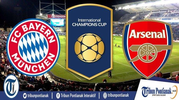 BIG MATCH Munchen Vs Arsenal LIVE MolaTV Jam 10.00 WIB | Live Streaming TVRI dan Link Live Score ICC