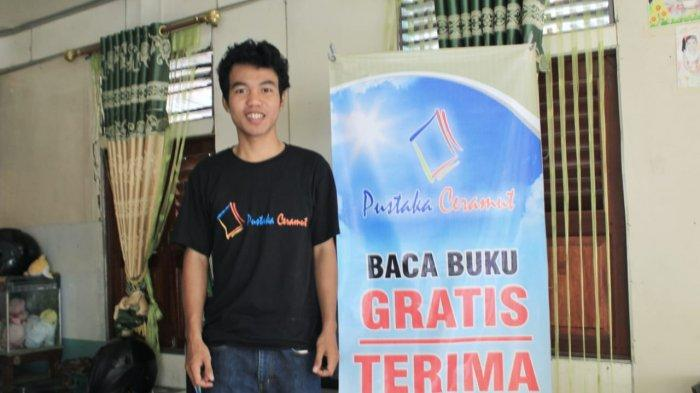 Prihatin Minat Baca Rendah, Pemuda Desa Makrampai Dirikan Rumah Baca
