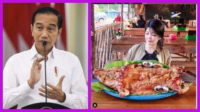 HEBOH Trending Twitter Jokowi Sebut Bipang Ambawang, Apa Itu Bipang Ambawang Makanan Khas Kalbar?