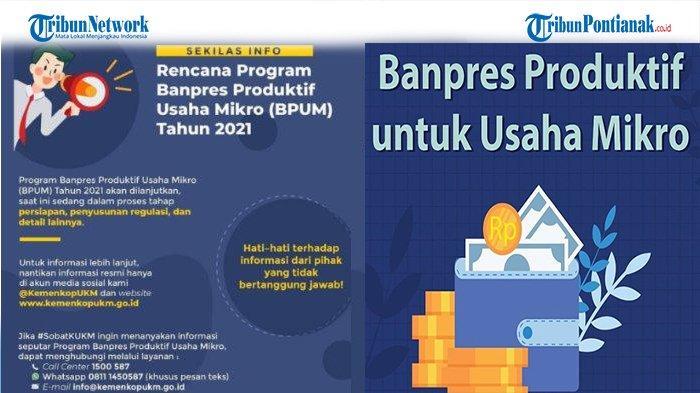 Link Cek Banpres BPUM September 2021 di eform.bri.co.id/bpum atau https://banpresbpum.id