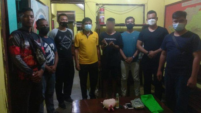 Polsek Jongkong Berhasil Ungkap Kasus Narkoba, Ini Tersangka dan Barang Buktinya