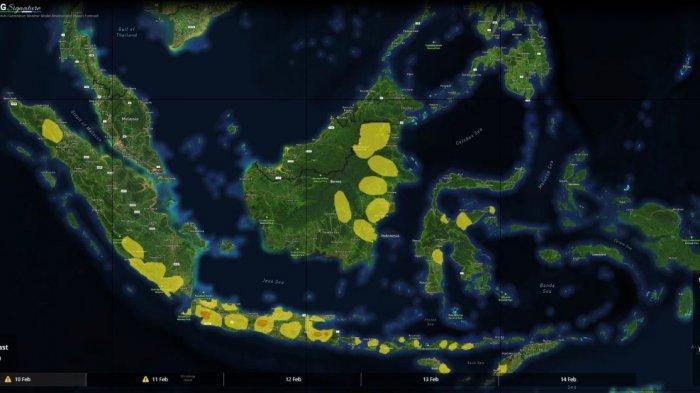Peringatan Dini BMKG Kamis 3 Juni 2021 Medan, Pontianak, Makassar, Jakarta, Surabaya hingga Papua