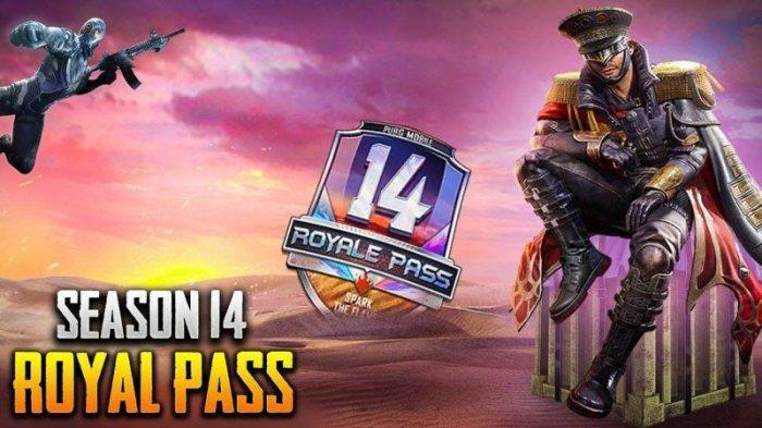 BOCORAN Update PUBG Mobile Royale Pass Season 14 Mengusung Tema Spark the Flame