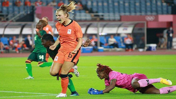 HASIL Bola Olimpiade Belanda Menang 10-3 dan Gusur Brasil ...