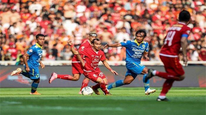 SIARAN LANGSUNG Persija vs Persib Malam Ini - Cek Line-up & Update Skor Sementara Persib vs Persija