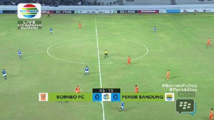 LIVE STREAMING Babak II Borneo FC vs Persib Bandung, Skor Masih Sama Kuat