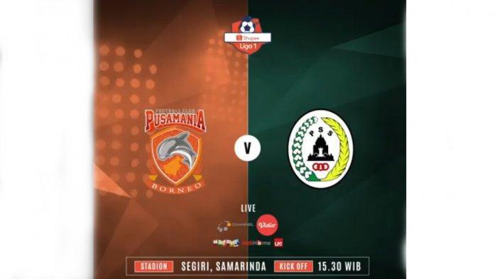 Prediksi Skor Borneo FC Vs PSS Sleman Shopee Liga 1 2019 Live Streaming Ochannel Jam 15.30 WIB