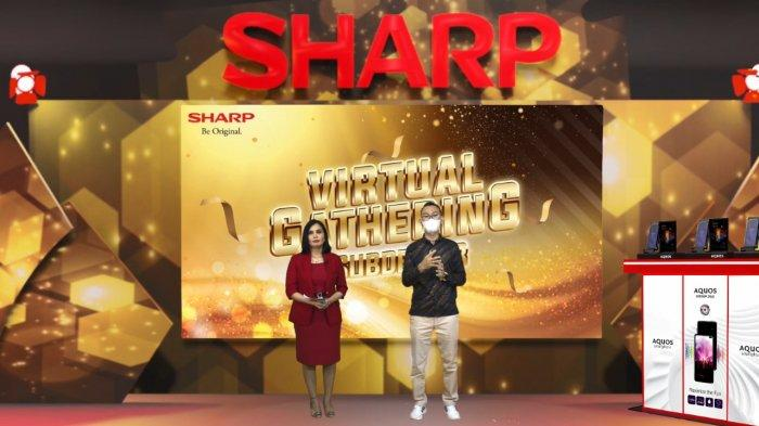 Sharp Virtual Gathering Berlangsung Semarak, Beri Apresiasi Dealer dan Subdealer