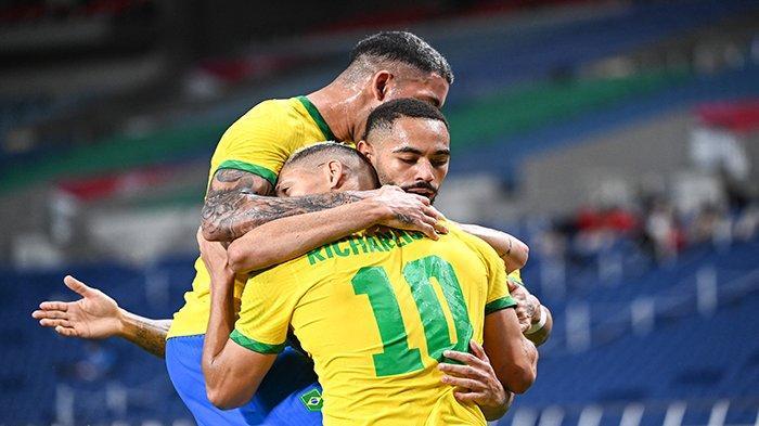 LIVE Score Brasil vs Meksiko Olimpiade Tokyo 2021 Hari Ini Update Skor Perebutan Tiket Final