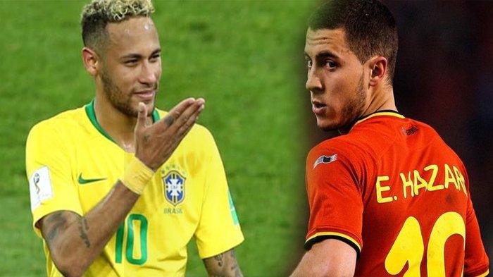 Kemarahan Neymar hingga Bekal Sempurna Belgia Hadapi Brasil