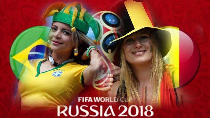 LIVE Brazil Vs Belgia di TransTV! Tonton Live Streaming Melalui Cara Ini