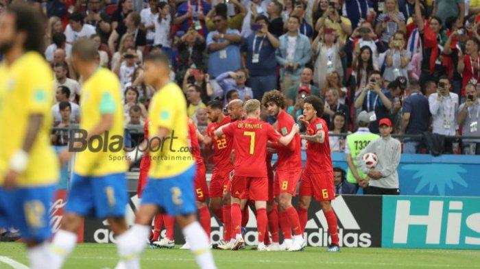 Pemain Brazil: Disingkirkan Belgia Lebih Menyakitkan daripada Kekalahan 1-7 Atas Jerman!