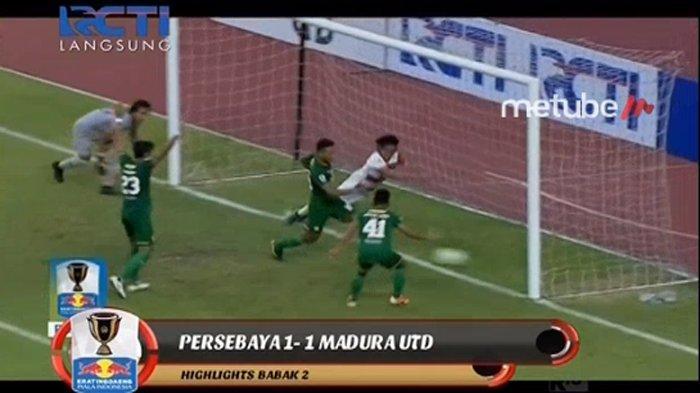 BREAKING NEWS - Laga Persebaya Vs Madura United Dihentikan Beberapa Menit Sebelum Peluit Panjang